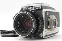 [Near Mint] Zenza Bronica C2 Body 6x6 w/ Nikkor-P 75mm f2.8 Lens From JAPAN #183