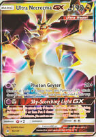 POKEMON • Ultra Necrozma GX 20/147 Forbidden Light ULTRA RARA HOLO NMINT