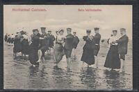 HAM 36681) AK Nordseebad Cuxhaven Beim Wattenlaufen 1907