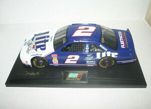 1997 Revell Miller Lite Nascar #2 Rusty Wallace Die-Cast 1:18 w/Display Base