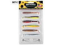 Ready for Fish Kit von SPRO Kommodo Shad 6 Farben mit Jig Das Set zum losangeln