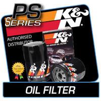 PS-2005 K&N PRO Oil Filter fits VW GOLF MK4 GTI 1.8 1998