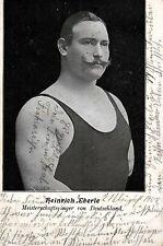 15619/ Foto AK, Meisterschaftsringer Heinrich Eberle, 1904