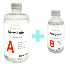 DIY Crystal Clear Epoxy Resin General Purpose - 120g 240g 1kg 2kg 5kg