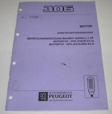 Werkstatthandbuch Peugeot 306 Motor Kraftstoffversorgung Stand März 1997!