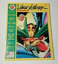 the jack kirby collector # 21, 1998 mister miracle cover