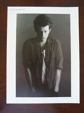 Tom Waits Apolonia Double Side Coffee Table Book Photo Page 8x11