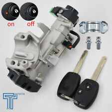 New Ignition Switch Cylinder Lock Auto Trans 2 KEY Fit For 06-11 Honda Civic US