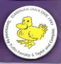 Elmbridge Duck Dive 1991 -  button badge 1991