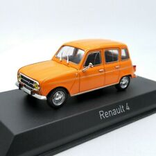1:43 Norev Renault 4 R4 1974 Orange Die-cast Model Car 510039