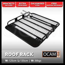 OCAM Steel Tradesman Roof Rack for Mitsubishi Triton MQ 2015-Current Dual Cab