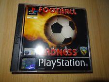 Fútbol Madness - SONY PLAYSTATION 1 PS1 PAL Reino Unido BUEN COLECCIONISTAS