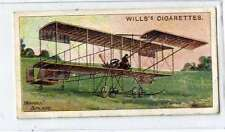 (Jd227-100)  Will's, Aviation , Farman Biplane  , 1910, #41