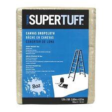 Trimaco SuperTuff Heavyweight Canvas Drop Cloth - 12' X 15' - 8 OZ.