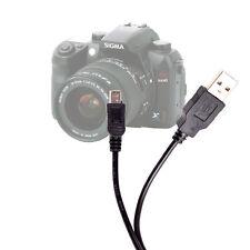 USB Digital SLR Camera Data Sync Cable/Lead/Wire/Adaptor For Sigma SD1, SD15