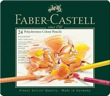 Faber-Castell Polychromos Artists' Colour Pencil 24 Tin Set
