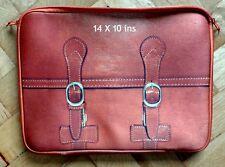 Novelty Satchel Design Laptop Bag 14 X 10 ins Synthetic