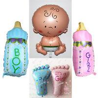 Baby Foil Balloon Boy  Girl Unisex Baby Shower Christening Birthday Decor Choose
