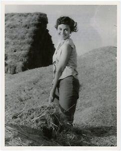 Original 1959 Haya Harareet Ben-Hur Publicity Photograph Career Defining Role
