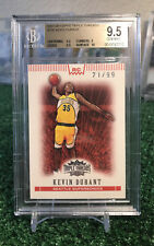 2007-08 Kevin Durant Topps Triple Threads Red Refractor Rookie /99 BGS 9.5 POP 3