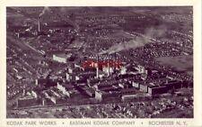 aerial view KODAK PARK WORKS - EASTMAN KODAK COMPANY - ROCHESTER, NY.