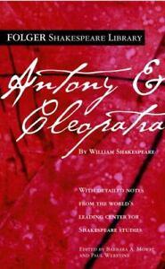 Antony and Cleopatra Mass Market Paperbound William Shakespeare