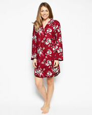 Alice Woven Long Sleeve Floral Print Nightshirt