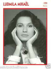 LUDMILA MIKAËL ACTRICE ACTRESS FICHE CINEMA FRANCE 90s