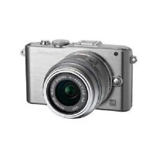 USED Olympus E-PM1 12.3MP with 14-42mm Silver Excellent FREE SHIPPING