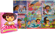 Dora's Enchanted Adventures Box Set by Various Authors (2001, 6 Paperbacks)