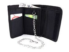 UNISEX QUALITY TRIFOLD CANVAS SPORTS WALLET CREDIT CARD HOLDER PURSE