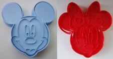 2er Set Backform Disney Minnie Mouse und Mickey Mouse Fondant Form Pralinenform