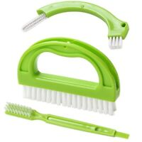 1 Set Tile Brushes Grout Cleaner Cor Cleaning Bathroom Kitchen Tools Scrubber