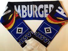 Hamburger Sv Echarpe de Football avec Doux Luxueux Acrylique Fils Neuf