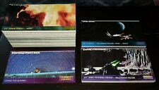 STAR WARS Trading Cards WideVision 1994 TOPPS Lot ESB ROTJ Promo P4 Played