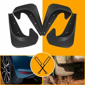 4 pc Universal Car Mud Flaps Splash Guards for Front or Rear (Hardware Included)