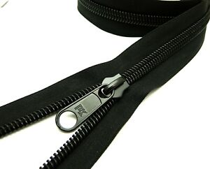 No 10 zip zipper - High quality water and UV resistant. Coil zipper