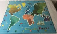 Vintage RISK 1959 Game Board Only Replacement Wall Art Retro Decor Craft