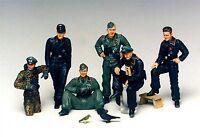 Tamiya 35201- 1:35, Deutsche Panzerbesatzung, WWII, GMK World War II, Plastikmod