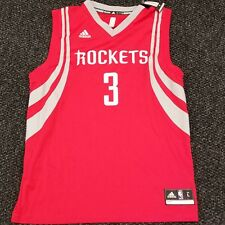 Adidas Houston Rockets Ryan Anderson #3 Replica Red Jersey L NBA 7818A $70 NWT