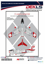 Decals Canadair Sabre - RCAF Lancers Aerobatic Team 1/72 Scale