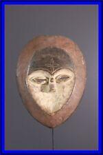 MASQUE KWELE AFRICAN TRIBAL ART AFRICAIN ARTE AFRICANA AFRIKANISCHE KUNST **