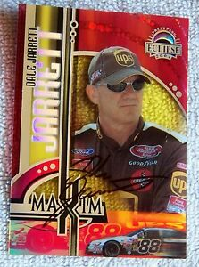 Nascar Star Dale Jarrett Signed 2004 Press Pass Eclipse Maxim Auto Card