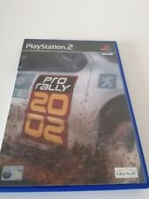 Playstation 2 ps2 Spiele Pro Rally 2002 komplette manuelle Retro Racing Fun freie p&p