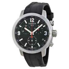 Tissot PRC 200 Chronograph Black Dial Men's Watch T0554171705700