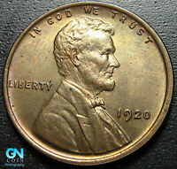 1920 P Lincoln Cent Wheat Penny  --  MAKE US AN OFFER!  #G7921