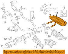VW VOLKSWAGEN OEM 11-16 Touareg 3.6L-V6-Muffler 7P6253609AB