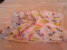 "DOLL CLOTHES BABY DIAPERS SET OF 5 FITS SIZE 10"" 11"" 12""  DOLLS SET 10"