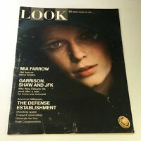 VTG Look Magazine August 26 1969 - Mira Farrow & Frank Sinatra / John F. Kennedy