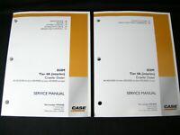 CASE 850M Crawler Dozer Tier 4A (interim) Service Manual Book Catalog Set of 2
